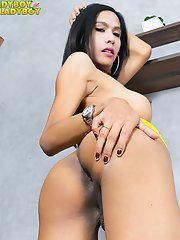 Natty is a stunning asian tgirl with an amazing body, a great ass, sexy big boobs, a delicious cock and a beautiful face. Enjoy this gorgeous transgir