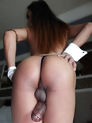 Ladyboy Deedee - Stuffed Backdoor Big Cum