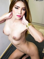 Maky Is A Gorgeous Tall Tgirl With A Sexy Slim Body, Big Boobs, A Firm Bubble Butt And A Rock Hard Cock! Watch This Sexy Transgirl Showing Off Her Hot