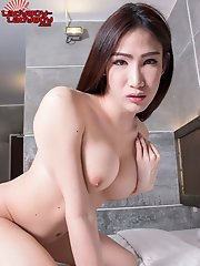 Sexy Sunny Is A Gorgeous Newcomer With A Hot Curvy Body, Big Tits, A Juicy Bubble Butt And A Sexy Cock! Enjoy This Hot Ladyboy Showing Off Her Amazing